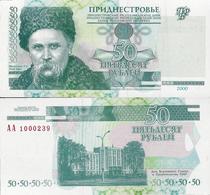 Transnistria 2000 - 50 Rublei - Pick 38 UNC - Andere