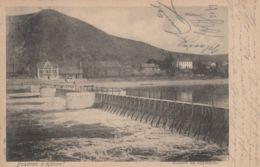 AK - Tschechien - KLECANY (Groß Kletzan) - NADELWEHR Mit Schleusenmeistergehöft 1902 - Tschechische Republik