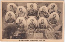 Poland Polska Lithuania Lietuva, Sowinski, Dembinski, Wysocki, Dwernicki, Chlopicki, Skrzynecki, Bem, Pradzynski, Kicki - Poland