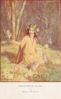 """""""Margaret Tarrant. Springtime In Arcady""""Lovely Medici Society Postcard - Fantaisies"""