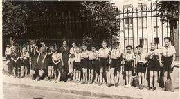 PHOTO ORIGINALE SAINT JEAN 24 JUIN 1962 - GROUPE De GARCONS Et FILLES SCOUT - ROBERT BADEN POWEL - LEBESQUE - Sports