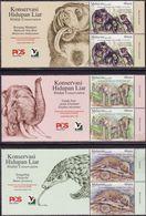 Malaysia 2019-8 Wildlife Conservation MNH With Title Fauna Pangolin Elephant Bear - Malasia (1964-...)