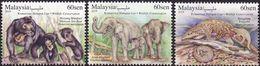 Malaysia 2019-8 Wildlife Conservation MNH Fauna Pangolin Elephant Bear - Malaysia (1964-...)