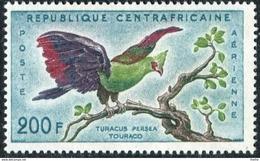 CENTRAFRICAINE  - Oiseaux : Touraco - Cuckoos & Turacos