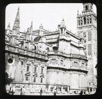 Seville Cathedral SPAIN - Magic Lantern Slide (lanterne Magique) - Glass Slides