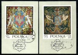 Polonia HB 48/49 En Usado - Blocs & Hojas