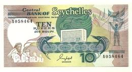 Seychelles - 10 Rupees 1989 - Seychellen