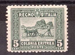 Erythrée - 1910/29 - N° 37 Dentelé 11 - Neuf (*) - Eritrea