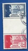 Pour La Légion Tricolore  565/566 Avec Intervalle    Oblitérés - France