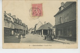 CHENERAILLES - Grande Rue - Chenerailles