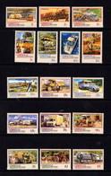 CHRISTMAS  ISLAND   1990     Christmas  Island  Transport    Set  Of  16       MNH - Christmas Island