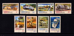 CHRISTMAS  ISLAND   1990     Christmas  Island  Transport    Part  Set  Of  8       USED - Christmas Island
