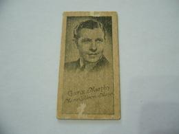 BIGLIETTO TRAM CINEMA PRINTICK OF MOVIE STAR GEORGE MURPHY REAL PHOTO CARD 1940 - Altre Collezioni