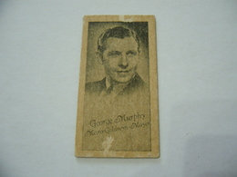BIGLIETTO TRAM CINEMA PRINTICK OF MOVIE STAR GEORGE MURPHY REAL PHOTO CARD 1940 - Altri
