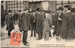 La Manifestation Du 1° Mai A PARIS - Le Préfet De Police Et Le Service D' Ordre (114894) - Autres
