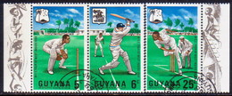 GUYANA 1968 SG 445-47 Used M.C.C.'s West Indies Tour - Guyana (1966-...)