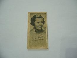BIGLIETTO TRAM CINEMA PRINTICK OF MOVIE STAR IRENE DUNNE REAL PHOTO CARD 1940 - Altre Collezioni