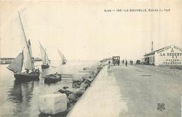 11 PORT LA NOUVELLE  Entrée Du Port   2scans - Port La Nouvelle