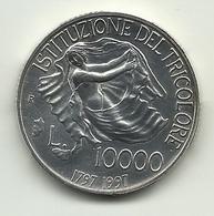 1997 - Italia 10.000 Lire Argento - Tricolore - Gedenkmünzen