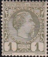 Monaco       Yvert    1            *            Neuf Avec Charniere  /  Mint-hinged - Unused Stamps