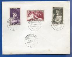 Enveloppe Affranchissement Divers   Oblitération SAARBRUCKEN 26/11/1951 - 1947-56 Protectorate