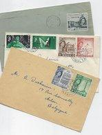 Malte: 3 Lettres Vers La Belgique - Malte