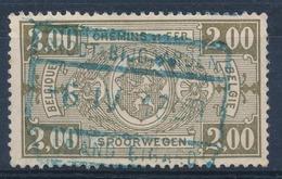 """TR 150 -  """"GROOT-BIJGAARDEN - GRAND-BIGARD"""" - Blauwe Stempel - (ref.28.240) - Chemins De Fer"""