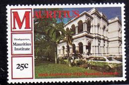 MAURITIUS 1980 HEADQUARTERS INSTITUTE CENTENARY 25c MNH - Maurice (1968-...)