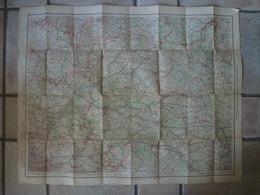 Carte Taride  Belgique France Chateau Thierry Doullens Acheux Péronne Philippeville Fumay Marson Avesnes - Cartes Topographiques