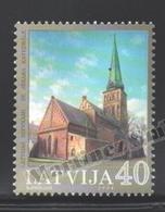 Lettonie – Latvia – Letonia 2004 Yvert 589, St. Jacob Cathedral - MNH - Letonia