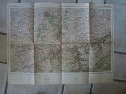 Carte Maubeuge Bruxelles Tirlemont Mons Namur Tongres Grammont Braine Binore Paturages  Dinant - Cartes Topographiques