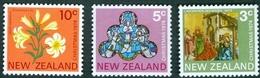 NEW ZEALAND #560-2   -  CHRISTMAS  3 V   - 1974    UNUSED - Unused Stamps