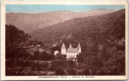 30 CHAMBORIGAUD - Château De Montjoie - Chamborigaud