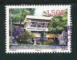 """TIMBRE Oblit. De 2014 """"Cinquantenaire De La Maison Du Combattant"""" - New Caledonia"""