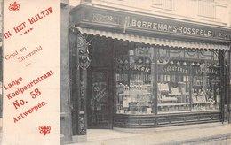 Borremans Rosseels In Het Bijltje Goud En Zilversmid Lange Koeipoortstraat 53 ANTWERPEN - Antwerpen