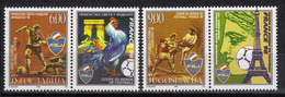 Yugoslavia,World Cup-France '98 1998.,stamp-vignette,MNH - 1992-2003 Federal Republic Of Yugoslavia
