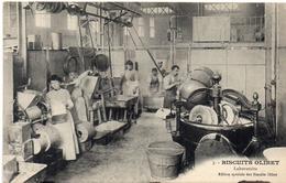 """PARIS - 3 - Biscuits """"OLIBET"""" Laboratoire (114920) - France"""