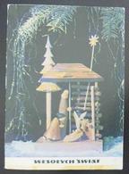WESOLYCH SWIAT - Presepe Weihnachtskrippe Crèche De Noël Nativity Presepio Polska - Vg - Natale