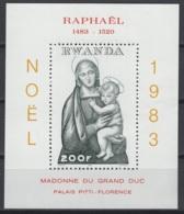 1983. Rwanda. COB N° BL97 **, MNH. Cote 2018 : 8 € - Rwanda