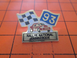 713i PIN'S PINS / Rare Et De Belle Qualité ! / Thème : AUTOMOBILES / 1993 RALLYE NATIONAL DE DUNKERQUE - Rallye