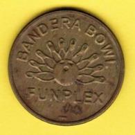 U.S.A.     BANDERA BOWL FUNPLEX (NO CASH VALUE) Token (T15) - USA