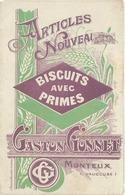 Dépliant 3 Volets Articles Nouveaux Gaston Gonnet, Monteux ( Vaucluse ), Biscuits … - Advertising