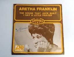 SP - Aretha FRANKLIN - The House That Jack Built  - 1968  - France - Soul - R&B