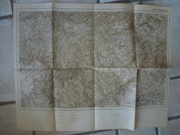 Carte Coblenz Wetzlar Bettenhausen  Gressen Neuwied Hachenburg Offenbach Munstec Bessinger Hattenrod - Cartes Topographiques