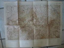 Carte Liege Bonn Stolberg Aachen Eschweiler Weyer Honnef Euskirchen Lommersum Konigsfeld - Cartes Topographiques