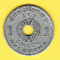 U.S.A.    OKLAHOMA CONSUMERS TAX Token (T18) - USA