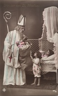 (430) Groeten Van St. Nicolaas - De Sint Komt Aan - De Kinderen Zijn Blij. - Saint-Nicolas