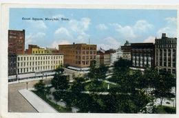 MEMPHIS - Court Square - Memphis