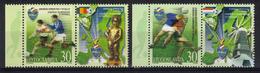 Yugoslavia,European Championship In Football-Belgium & Netherlands 2000.,stamp-vignette,MNH - Ongebruikt