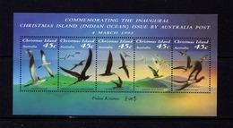 CHRISTMAS  ISLAND   1993    Birds    Sheetlet       MNH - Christmas Island